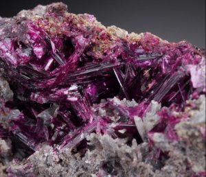 Erythrite RARE Intensive Colour Lustous Crystals Morocco AB420 | eBay-3